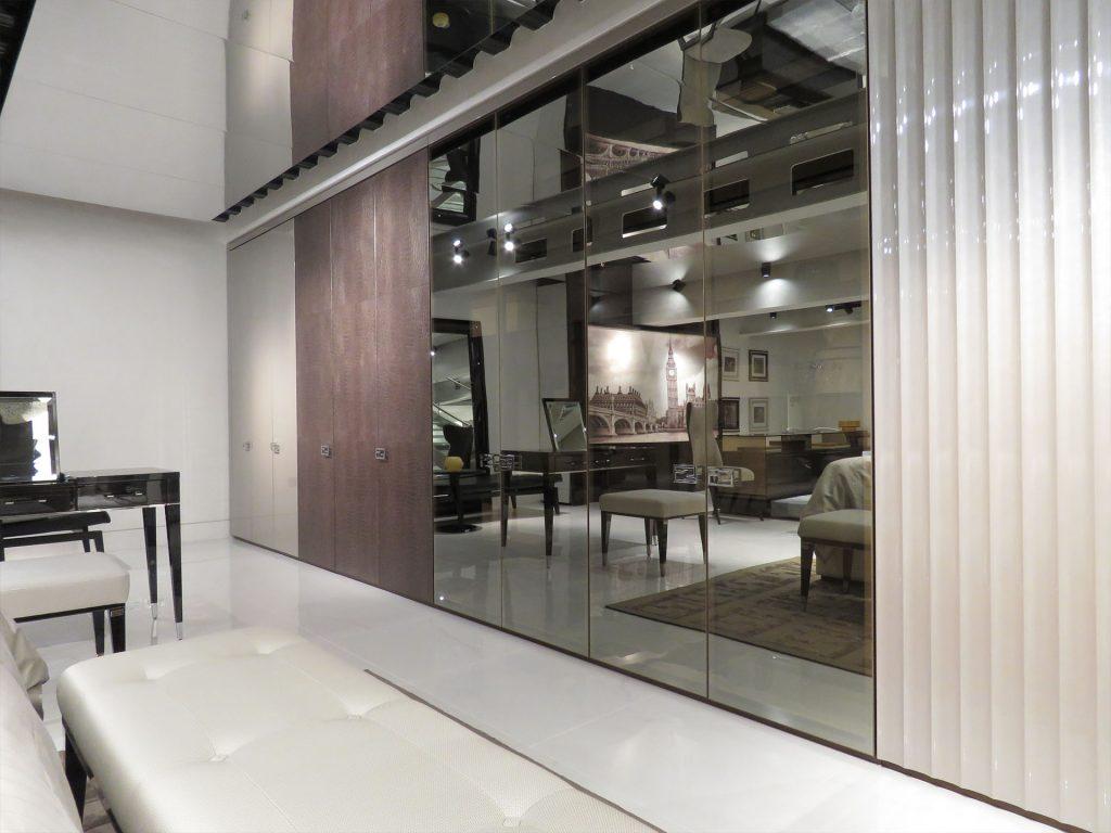 commercial construction, design, london, fendi